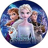 Frozen II, Eisknigin Tortenaufleger, Rund