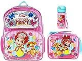 Fancy Nancy 'Pretty Butterfly' 40,6 cm Rucksack, isolierte Lunchbox Plus Trinkflasche