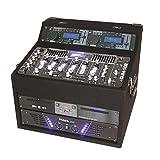 Ibiza DJ1000MKII DJ-Mixer 4-Kanal Mischpult mit Verstärker (2 x 150 Watt RMS, Doppel-CD-Player, 2 x...