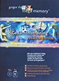 Mega Memory Gedchtnistraining Premium Edition - Textband plus 12 CDs
