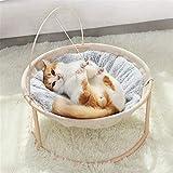 JSJJAUA Haustierbett Cat's Nest Four Seasons Universal Cradle Stuhl Katze Prinzessin Hundest Nest...