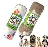 Hundedecke Katzendecke, 2er Pack niedlichen Haustierdecken für kleine Hunde und Katzen Bequemes und...
