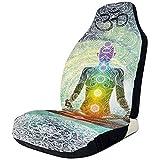 Xiaoyinghua Autositzbezüge Zen Meditation Yoga Chakra Mandala Universal Vordersitzbezüge...