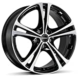 Borbet XL black polished 8x18 ET35 5.00x112 Hub Bore 72.60 mm - Alu felgen