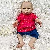YIHANGG 40cm 16 Zoll Wiedergeboren Baby Puppe Wasserdicht Badbar Kind Playmate Neugeborenen...