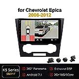 XBRMMM 10,1 Zoll 2.5D IPS Android 8.1/9.0 Octa Core Auto DVD Radio GPS Navigation Fr Chevrolet Epica...
