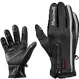 Winter Touchscreen Fahrradhandschuhe für Männer – Winterhandschuhe mit problemloser...