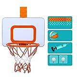 Kinder-Basketball-Ständer, Indoor hängenden Basketball-Brett kann angehoben und abgesenkt Werden,...