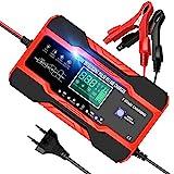 YDBAO Autobatterie Ladegerät 10A 12V 24V Batterieladegerät Auto Vollautomatisches Batterie...