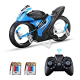 EACHINE E021 Mini Motorrad Drohne Racing 2-In-1 Land/Air Modi,Fliegendes Motorrad...