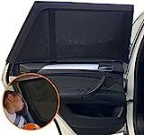 Funmo 2 Stück Sonnenschutz Auto, Sonnenschutz Auto Baby mit UV Schutz Sonnenschutz...