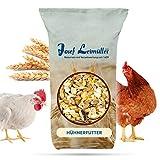 Leimüller Hühnerfutter | Körnerfutter für Hühner GVO - Gentechnik frei | 6-Korn Geflügelfutter...