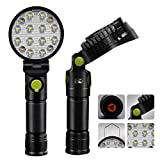 YYSD LED Arbeitsleuchte, Wiederaufladbare Hand Inspektionslampe mit Magnetfuß, Verstellbarem Kopf...