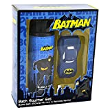 Batman - DC Comics Geschenkset Kinderbad Schaumbad & Wasserspielzeug Set -2 Stück