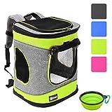 Pawsse Dog Backpack Pet Carrier Rucksack für Katzen und Hunde bis 15 Pfund Outdoor Travel Carrier...