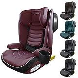 XOMAX A23 Kindersitz 15-36kg ISOFIX I mit Flaschenhalter I mitwachsend: ca. 3,5-12 Jahre, Gruppe 2/3...