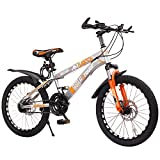 Axdwfd Kinderfahrräder 18/20 Zoll Jungen und Mädchen Fahrräder, Mountainbikes, Fahrräder mit...