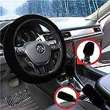 3 Stck Auto Lenkradhlle Anti Rutsch Warme Lenkrad Abdeckung Handbremse & Getriebe Abdeckung Set...