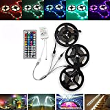 15M SMD3528 Waterproof RGB 900 LED Strip Band Light Kit + 44 Tasten Controller + Kabelstecker DC12V