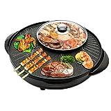 CJTMY All-in-One-Hot Pot, Barbecue Non-Stick Hot Pot, Haushalt Smokeless Fleisch Bräter