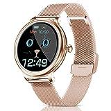 CatShin Smartwatch Damen,Fitness Armbanduhr Tracker Wasserdicht Smart Watch damen,Touchscreen...