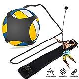 PINCOU Fußball/Volleyball-Trainingsgeräte Ball Rebounder Aids mit verstellbaren Kordeln und Bund...