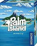 KOSMOS 741716 - Palm Island, Die Insel to go, Spielt sich bequem in einer Hand, Kartenspiel für 1...