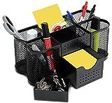 Amtido Mesh Tisch Organizer Set, Stiftehalter, Notizblockhalter, Utensilienhalter, Stifteköcher,...