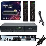 HD-LINE 410 Sat Receiver - Satelliten Digitaler Receiver- DVB-S / DVB-S2 - Full HD 1080p Digital...