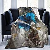 KJHSJ Legend of Zelda Blanket Superweiches Fleece Warme Flauschige Decken Pflegeleicht zu jeder...