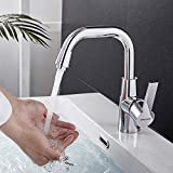 BONADE Armatur Waschtischarmatur 360° Schwenkbereich, Einhebel-Küchenmischer Waschtisch...