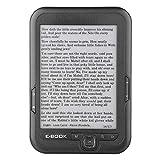 Byged 6In E Book Reader, tragbar 800 * 600 Unterstützt 4G/ 8G/ 16G und TF Karte mit Screen Lighting...