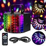 Anpro Bühnenbeleuchtung, LED Party Disco Licht Party Lampe DMX 512 in 9 Lichtfarben mit...