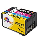 CLORISUN 405 XXL Druckerpatronen Kompatibel für Epson 405 405XXL Tintenpatronen für Epson...
