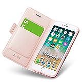 Hlle iPhone 6, iPhone 6s Schutzhlle mit Kartenfach und Stnder, iPhone 6s Tasche Leder, Phone 6...