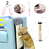 JUNIQUTE Kratzmatte für Katzen, Kratzschutz, Sisal, Sofa-Schutz, 2-in-1, Katzenkratzunterlage &...