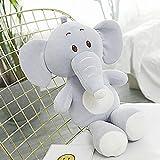 NC56 Blue Elephant Doll Elastische und weiche Elefanten Plüschtiere Mädchen Kissen Kinder...