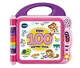 Vtech 80-601554 Mein 100-Wörter-Buch pink, Babyspielzeug, Mehrfarbig