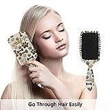Hundekrallenhaarbürste beste Entwirrungsbürste für alle Haartypen, nass oder trocken, und für...