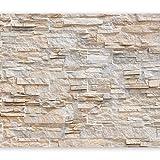 murando - Fototapete selbstklebend Steinwand 392x280 cm decor Tapeten Wandtapete klebend Klebefolie...