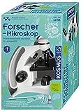 Kosmos 636074 Forschermikroskop Experimentierkasten für Kinder, Teal/Turquoise Green