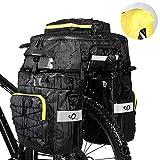 WATERFLY Fahrradtasche 3 in 1 Multifunctionwasserdichte Gepcktrgertasche Radfahren Gepcktrger Tasche...