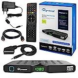 HB DIGITAL DVB-T/T2 SET: Skymaster DTR5000 DVB-T/T2 Receiver, kartenloses Irdeto-Zugangssystem für...