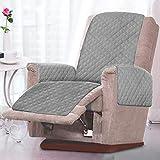 Sesselschoner Sesselauflage Relaxsessel Sofaschoner mit Zweiseitig Verwendbar Antifouling...