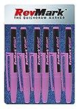 RevMark Bright Series Industrie-Marker, 6 Stück, hergestellt in den USA, ersetzt Lackmarker für...