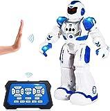 ETEPON Ferngesteuerter Roboter für Kinder, intelligenter programmierbarer RC Roboter Spielzeug mit...