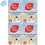 Pro-bijo Bio-Getreide-Breie Mehrkorn-Banane mit Pflaume ,100% Bio-Zutaten, nach dem 6.Monat,...