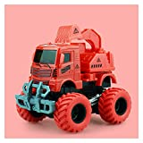 Yinyimei Spielzeugauto Baby Klassische Simulation Engineering Auto Spielzeug Bagger Modell Traktor...