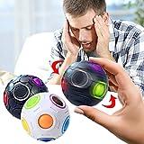 STR CMT Rainbow Ball Magic Stressabbau Und Angstkontrolle Anti-stressball Spielzeug Dekompression...