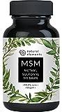 MSM Kapseln - Vergleichssieger 2020* - 365 vegane Kapseln - Laborgeprft - 1600mg...